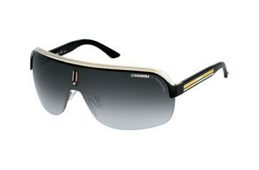 79a76fc2b5 Carrera Topcar 1 Sunglasses - Black Crystal Yellow Frame