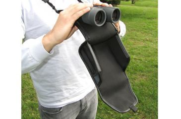 Carson BinoArmor Deluxe Binocular Case, Black/Gray BA-07