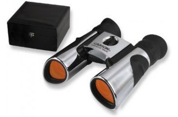 Carson Cat-Eye 10x25mm Compact Binoculars with Leather Box CE-125LB