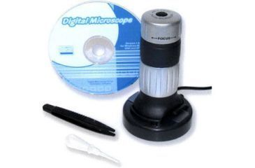1-Carson zPix Digital Microscope MM-640 w/ Integrated Camera, 26x-130x Digital Zoom