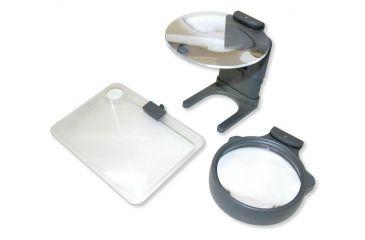 Carson Hobby Magnifier 3-in-1 LED Lighted Magnifer Set HM-30
