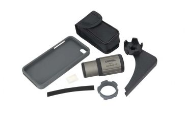Carson HookUpz iPhone 5/5S Binocular Adapter w/ 7X18mm Monocular, Black IC-518