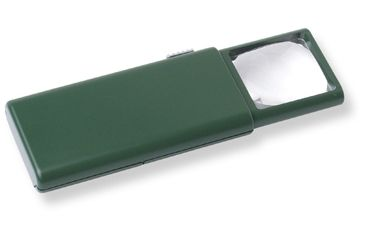 Carson LumiClick Pop Out Magnifier with Light Outdoor Green OD-25