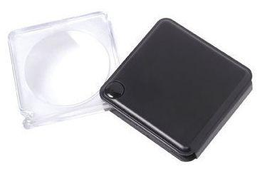 Carson MagniFlip 3x Flip-Open Pocket Magnifier with Built-in Case