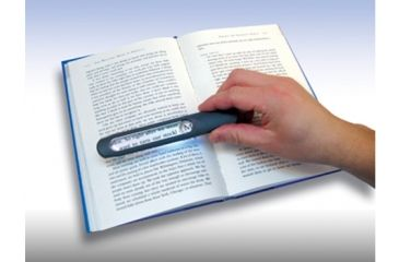 Carson MagniLine Handheld Magnifier w/ LED Light, Gray MT-25