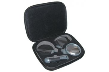 Carson Remov-A-Lens 3-in-1 LED Lighted Handheld Magnifier RL-30