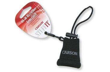 Carson Stuff-It Microfiber Lens Cloth, Black SN-50BK