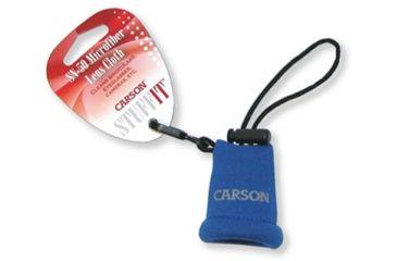 Carson Stuff-It Microfiber Lens Cloth, Blue SN-50BU