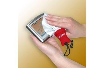 Carson Stuff-It Microfiber Lens Cloth, Red SN-50RE