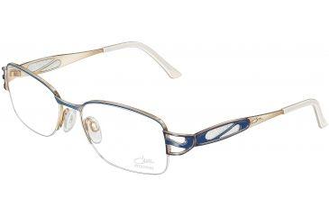 Cazal 1022 Eyewear - 119 Navy Blue-Gold