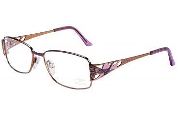 Cazal 1025 Eyewear with Violet-Lavender-Leopard Frame