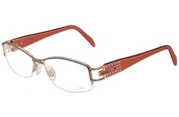 Cazal 4144 Eyewear - 804 Anthracite- Salmon