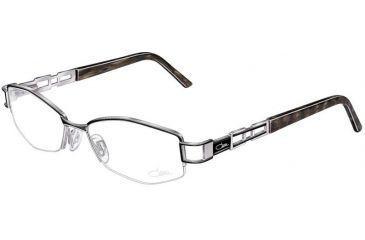 Cazal 4152 Eyewear - 106 Black-Silver-Olive