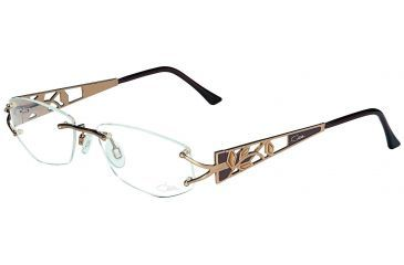 Cazal 4161 Eyeglasses with Caramel-Brown Frame