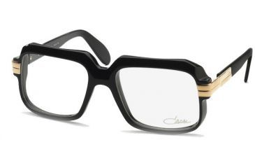 2e96305d05e Cazal Eyeglasses 607 with Rx Prescription Lenses Black or Crystal ...