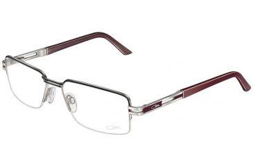 Cazal 725 Eyewear - 895 Silver-Burgundy