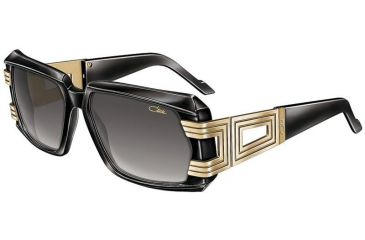 e751aaf76d Cazal 8001 Sunglasses - 1 Black-Gold Grey Gradient Lenses
