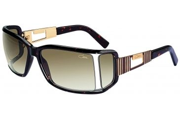 Cazal 8002 Sunglasses with Tortoise Frame and Brown Gradient Lenses