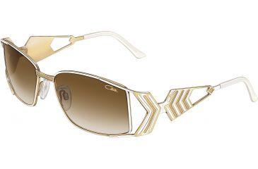 ff5e673f04 Cazal 9011 Sunglasses - 332 - White-Gold