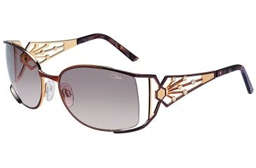 Cazal 9012 Sunglasses with 159 Brown Frame
