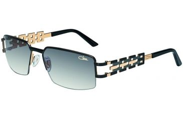 Cazal 9018 Sunglasses with 001 Black-Gold Frame