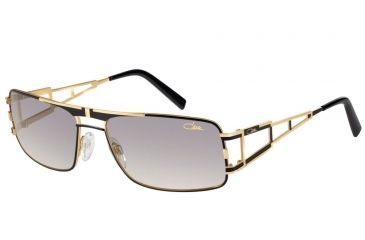 Cazal Cazal 9043 Sunglasses, Black-Gold, 61-17-135 9043-002