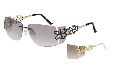 Cazal Cazal 9045 Sunglasses, Cream-Gold, 58-15-125 9045-002