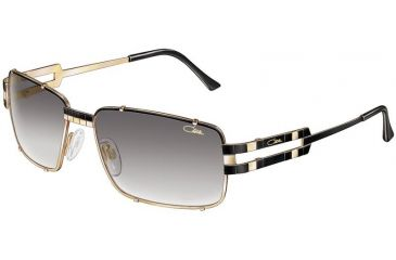 Cazal 977 Sunglasses - 302 Black-Gold
