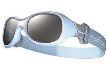 Cebe Chouka Kids Single Vision Rx Sunglasses Light Blue Frame, CBCHOU1