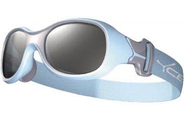 Cebe Chouka Kids Sunglass Light Blue Frame, 2000 Grey Lens CBCHOU1