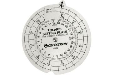 Celestron Finder - Polaris Setting Plate 60121
