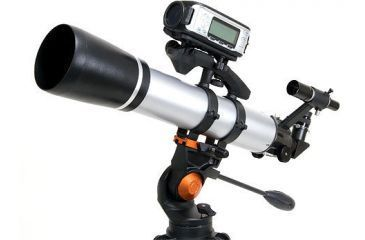 Celestron SkyScout mounted on Sky Scout Scope