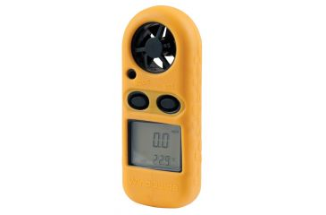 Celestron WindGuide Anemometer Portable Wind Speed Gauge - Yellow 48020