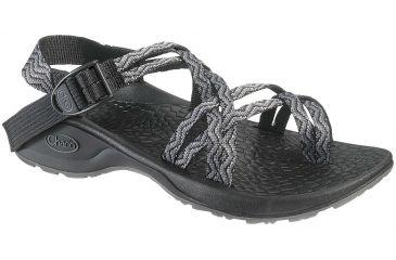 aa581e074280 Chaco Updraft Ecotread X2 Sandal - Women s-Black Waves-Medium-5