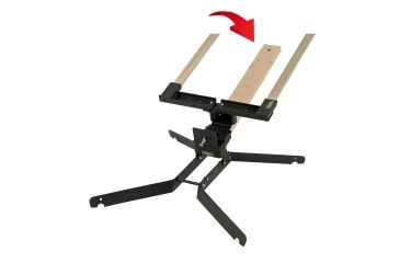 Challenge Targets Steel 8 in Training Target Holder with Heavy Base, Black, Handgun Rated PS-HD-TH-8-H