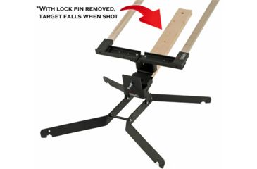 Challenge Targets Steel 8 in. Training Target Holder with Heavy Base PS-SD-TH-8-H