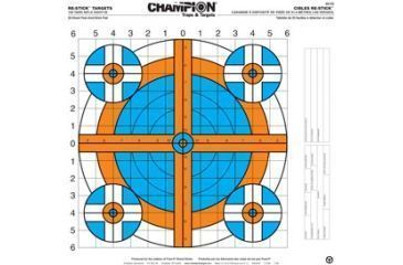 Champion Traps and Targets 46102 Re Sticks 100 Yd Rifle Sight In Target 16x16