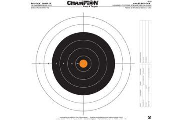 Champion Traps and Targets 46104 Re Stick 100 Yd Smallbore Rifle Target 16x16