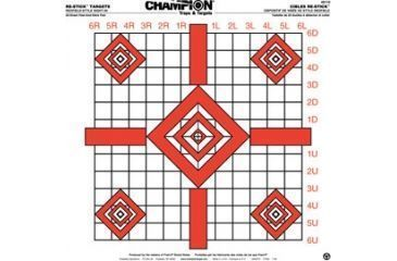 Champion Traps and Targets 46110 Re Stick Updated Redfield Sight In Target 16x16