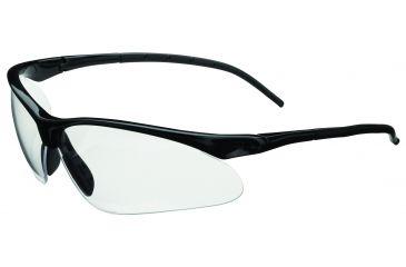 Champion Ballistic Half Frame Flex Wire Temples, Smoke Mirrored Lens, Black/Smoke 40660