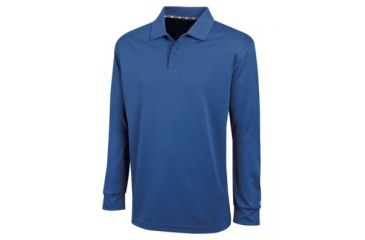 8a6c1d3a Champion Mens Ultimate Double Dry Long Sleeve Polo Shirt, Athletic Royal,  Small H143 S