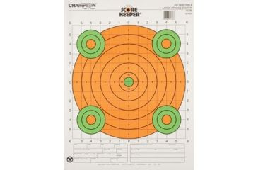 Champion Target 100yd Orange Sight-In