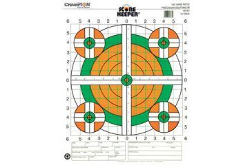 Champion Target 100yd Rifle Sight In Target