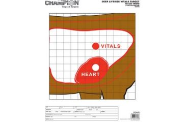 Champion Traps and Targets Deer Vitals (12pk)