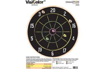 Champion Target VisiColor Dartboard High-Visibility Paper Targets