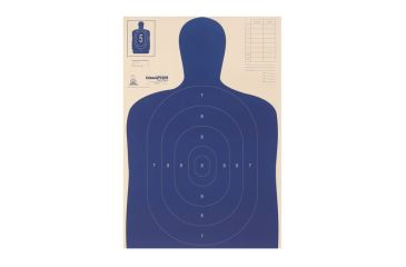 Champion Traps and Targets LE Paper Silhouette Target - B27-e