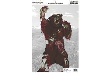 Champion Zombie Visicolor Bulk Zombie Pack, Cartoon Kodiak Bear, Multi-color 46044