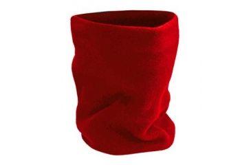 Chaos Durante Fleece Neck 2ply Red 13G35230 RED
