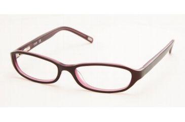Chaps CP3013-556-4915 Eyeglasses with Lined Bifocal Rx Prescription Lenses 49 mm Lens Diameter / Black/Lt Pink Frame