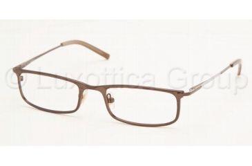 Chaps CP 2030 Eyeglasses Styles Dark Brown Frame w/Non-Rx 51 mm Diameter Lenses, 104-5118